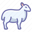 mutton, ram, sheep icon