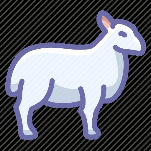 mutton, ram, sheep icon