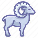 goat, mutton, ram icon