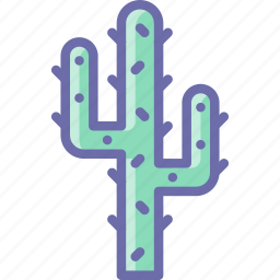 cactus, desert icon