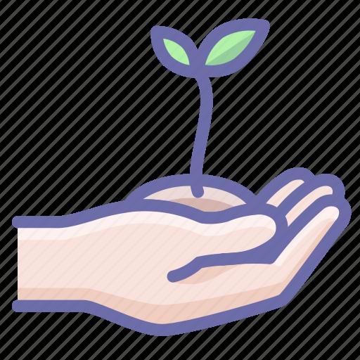 eco, growth, plant icon