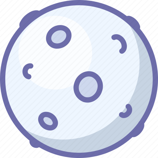 Moon, planet, space icon - Download on Iconfinder
