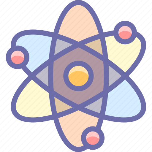 Atom, energy, science icon - Download on Iconfinder