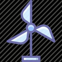 eco, generator, wind icon