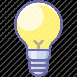 idea, lamp, light icon