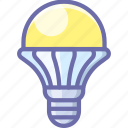 lamp, led, light icon