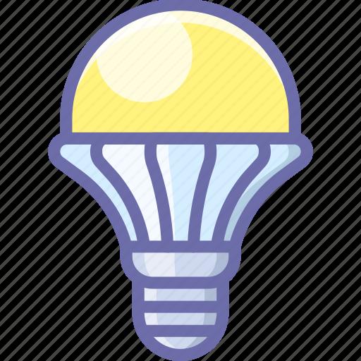 lamp, led, light icon