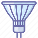 halogen, lamp, light icon