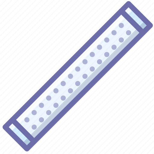 lamp, led, strip icon