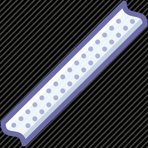 lamp, led, stripe icon