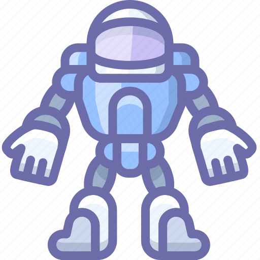 Astronaut, robot, space, suit icon - Download on Iconfinder