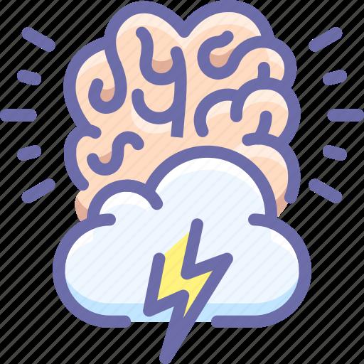 brain storm, creative, idea icon