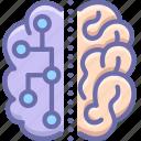 brain, neuro, science icon