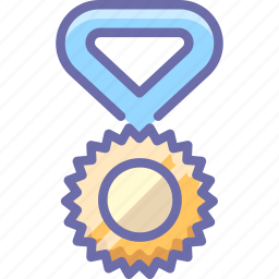 champion, medal, olympics icon