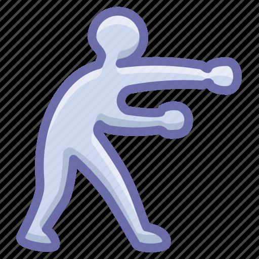 boxing, fighting, olympics icon