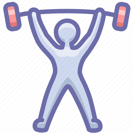 gym, olympics, weight icon