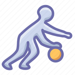 basketball, dribble, sport icon