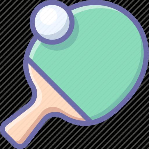 pingpong, racket, sport icon