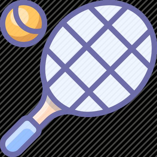 racket, sport, tennis icon