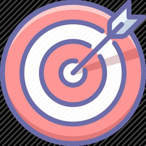 goal, sport, target icon