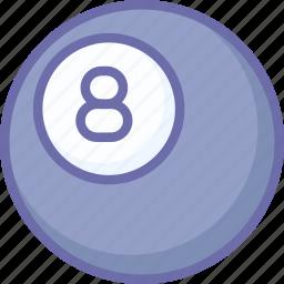 ball, billiard icon