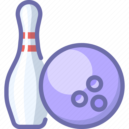ball, bowling, skittle icon