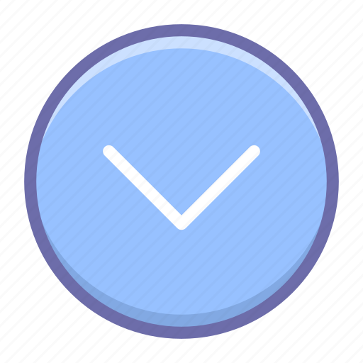 Arrow, circle, down icon - Download on Iconfinder