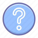 circle, help, question icon