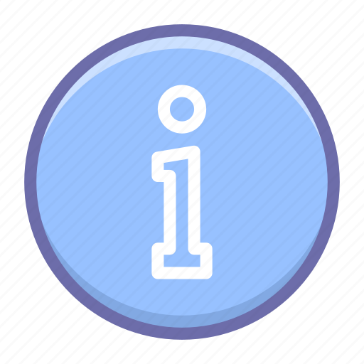 circle, info, information icon