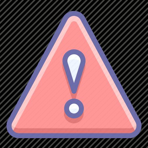 alert, triangle, warning icon