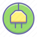 charge, cord, electric, plug, recharge, sign icon
