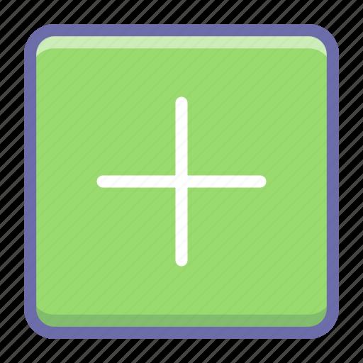 add, new, open, plus icon