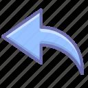 arrow, undo