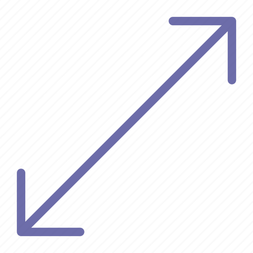 arrow, corner, move icon