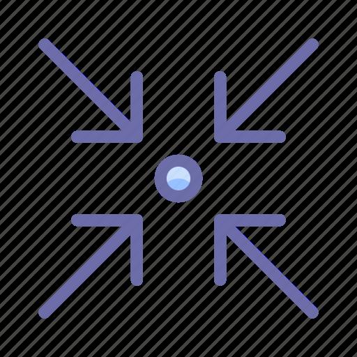 arrow, collapse, expand icon