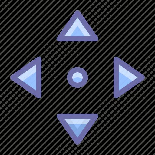 arrow, move, navigate icon