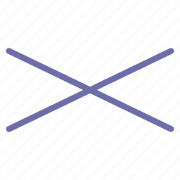 compressed, cross icon