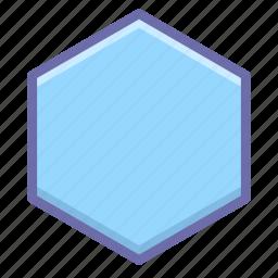 cell, hexagon, honey icon