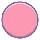 cicrcle, round icon