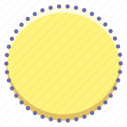 cicrcle, dotted, logo icon