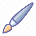 brush, paintbrush icon