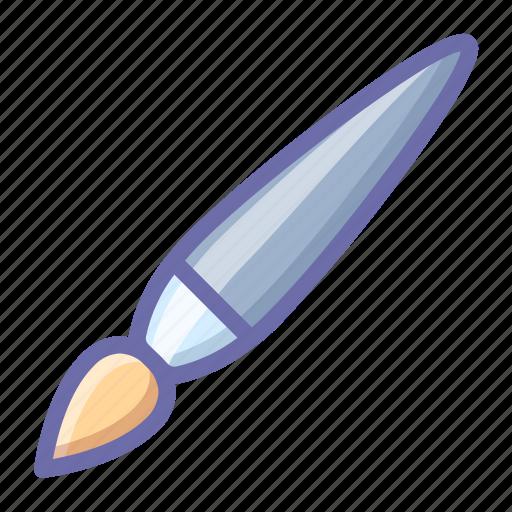 brush, paintbrush icon
