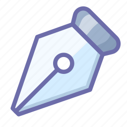 ink, pen, tool icon