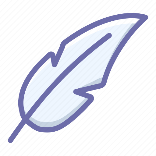 Feather, light icon - Download on Iconfinder on Iconfinder