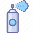 airbrush, deodorant, spray icon