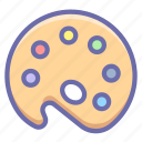 color, mixer, palette icon