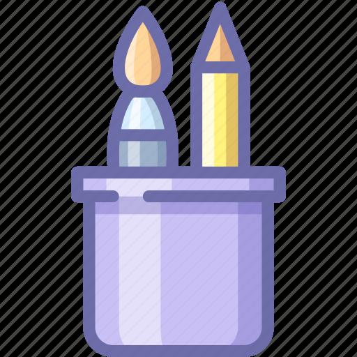 Brush, pen, apps icon - Download on Iconfinder on Iconfinder