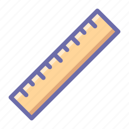 ruler, tool icon
