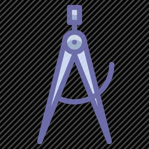 calipers, measure, tool icon