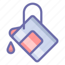 bucket, fill, tool icon
